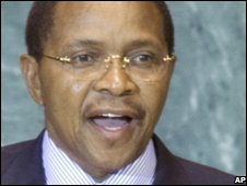 File photo of Jakaya Kikwete, September 2008