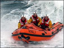 Lifeboat crew. Pic: RNLI
