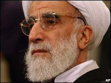 Ayatollah Jannati (file image)