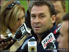 Australia coach Ricky Stuart