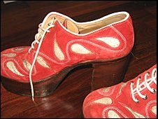 Elton John's shoes