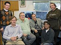 Investigadores del Laboratorio Nacional Lawrence Berkeley (Foto: Roy Kaltschmidt)