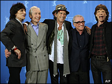 The Rolling Stones and Marin Scorcese