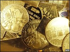 Vienna Philharmonic gold coins