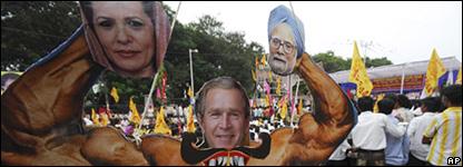 Protesta antinuclear en India
