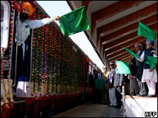 Kashmir train inauguration, 11 Oct