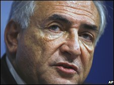 IMF head Dominique Strauss-Kahn