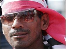 Supporter in Aceh. Pic: Fauzan Ijazah