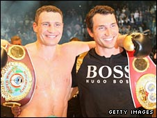 Brothers Vitali and Wladimir Klitschko