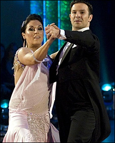 Jessie Wallace and Darren Bennett