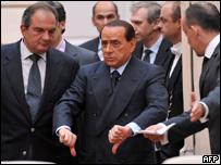 Премьер Италии Сильвио Берлускони