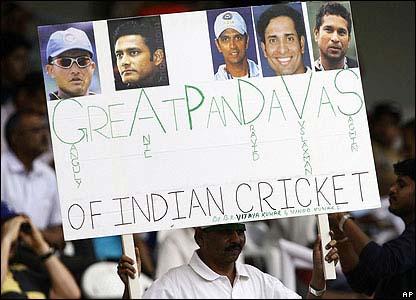 """Great Pandavas"" poster"