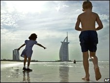Jumeira beach area