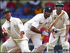 Ricky Ponting and VVS Laxman