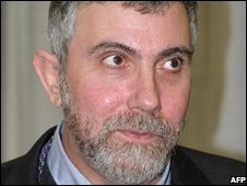 US economist Paul Krugman, pictured in 2006