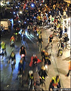 Critical Mass, London, 2005