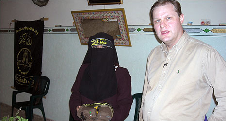 Paul Wood interviews would-be suicide bomber Umm Anas