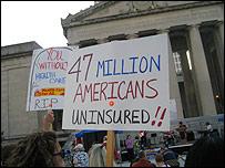 """""""47 millones de norteamericanos sin seguro m�dico"""""""