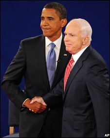 Senators Barack Obama and John McCain