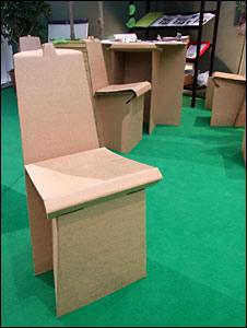 Cardboard chair (BBC)