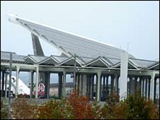 Solar panel roof (BBC)