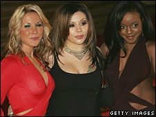 The old Sugababe line-up
