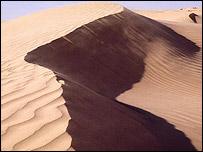 Duna en el Sahara