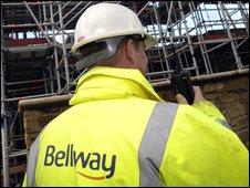 A Bellway worker
