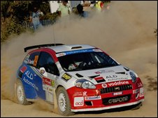 Car competing in IRC (picture from IRC website)