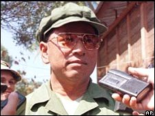 Former senior Khmer Rouge figure Khem Ngoun in 1999
