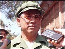 Former senior Khmer Rouge figure Khem Ngoun in 1999