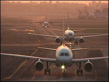 Planes in Mumbai