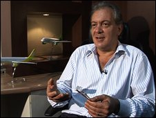 GoAir's chief executive, Edgardo Badiali