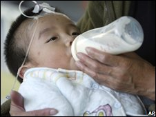 Baby suffering from kidney stones