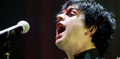 Green Day frontman Billie Joe Armstrong