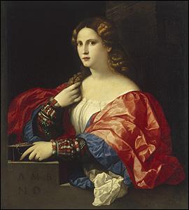 Portrait of a Woman, 'La Bella', by Palma Vecchio. © Museo Thyssen-Boremisza, Madrid