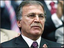 Turkish Justice Minister Mehmet Ali Sahin (file image)