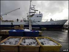 Fishing boat in Reykjavik