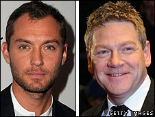 Jude Law and Kenneth Branagh