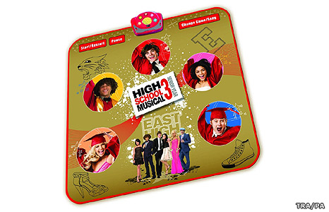 High School Musical 3 Got the Moves Dance Mat