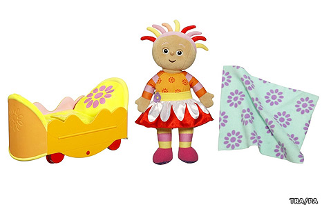 In the Night Garden - Upsy Daisy and her Chase and Play Bed