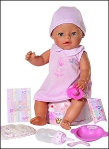 Baby born with magic potty