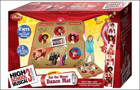 High School Musical 3 dance mat