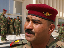 Maj Basim (Photograph: Hugh Sykes)