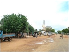Deserted Kilinochchi town