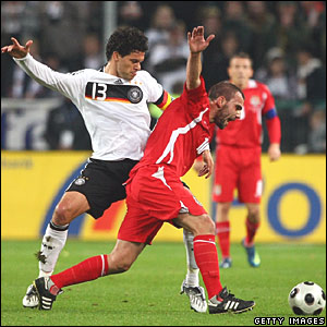Michael Ballack (Germany), Carl Fletcher (Wales)