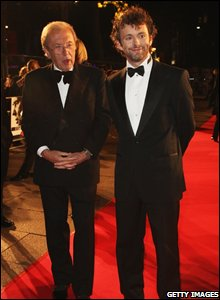 Sir David Frost and Michael Sheen