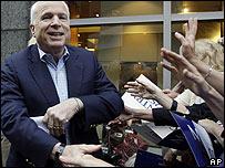 John McCain en campa�a