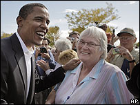 Barack Obama en campaña