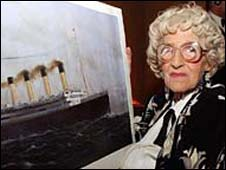 Titanic survivor Millvina Dean